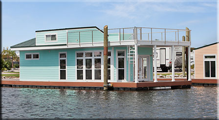Houseboat at Pontchartrain Landing